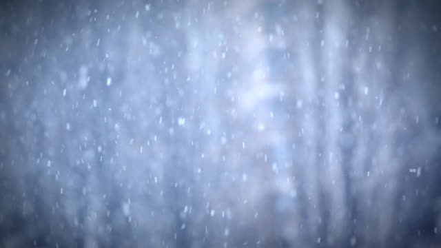 Snowing background. video