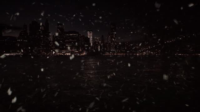 Snowing Manhattan video