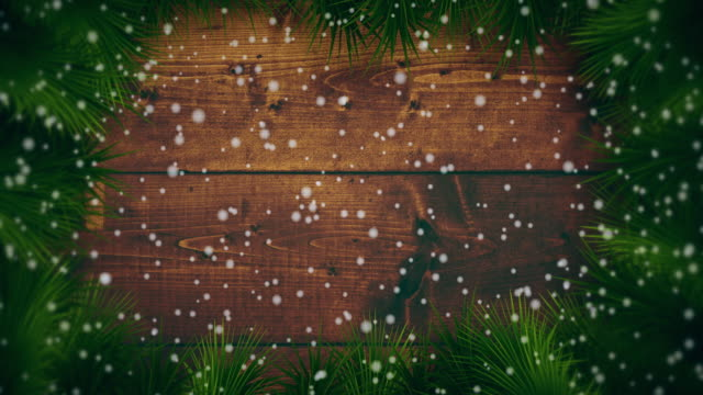 Snowing on christmas backgrounds
