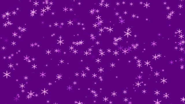 vídeos de stock e filmes b-roll de snowing - christmas card