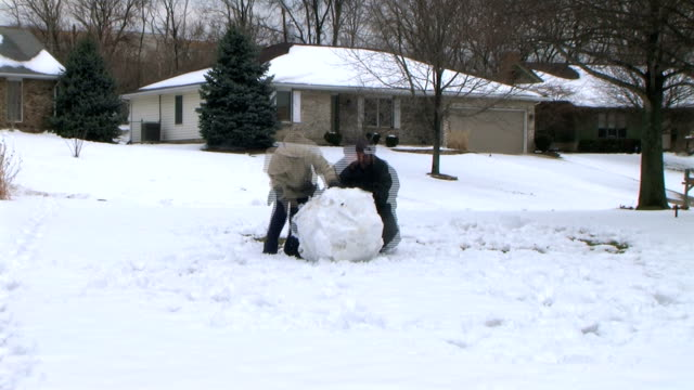 Snowman Time Lapse video