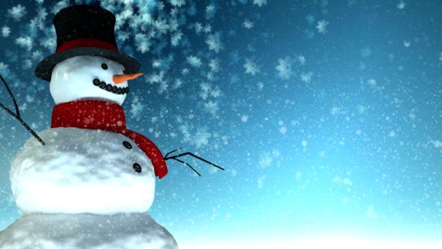 Snowman-christmas video