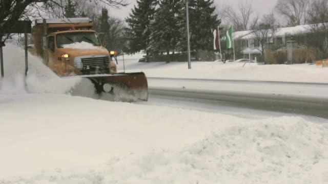 Snowplow, snow plow  plow stock videos & royalty-free footage