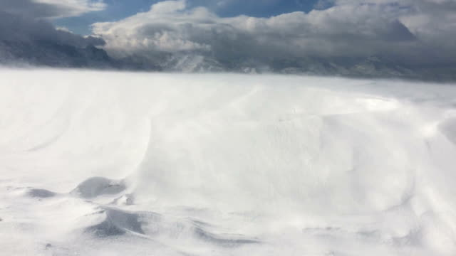 Snowstorm video