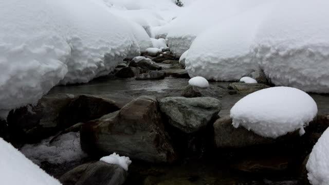 Snowy Brook video