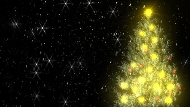 Snowy Christmas Tree   (1080/30P) video
