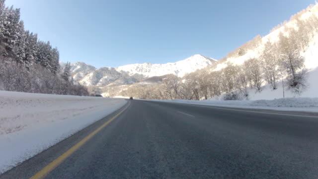Snowy Mountain Pass video