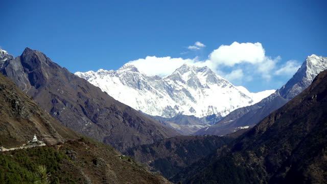snowy mountains. Nepal, Himalayas video