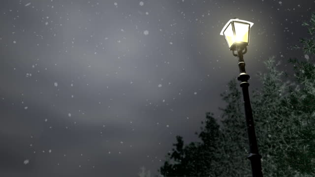 Snowy Night - HD video