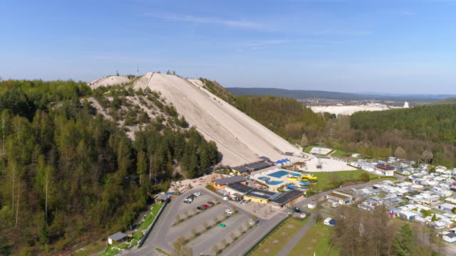 Sogenannte Monte Kaolino In Hirschau In Nordbayern – Video