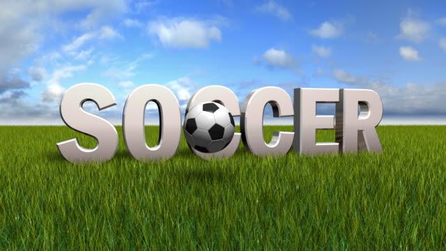 vídeos de stock, filmes e b-roll de animação de futebol - futebol internacional