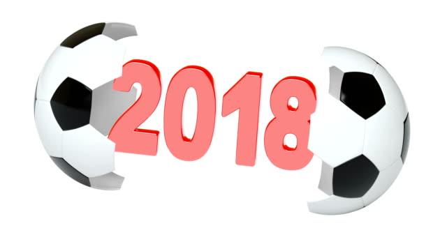 vídeos de stock e filmes b-roll de soccer ball. 4k resolution. looping. - campeão desportivo