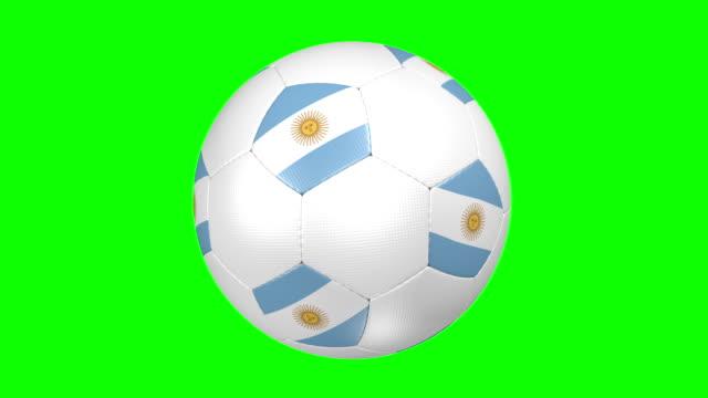 Pelota de fútbol de Argentina - vídeo