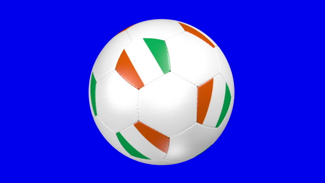 vídeos de stock, filmes e b-roll de bola de futebol da costa do marfim - futebol internacional