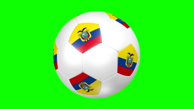 vídeos de stock, filmes e b-roll de bola de futebol, equador - futebol internacional
