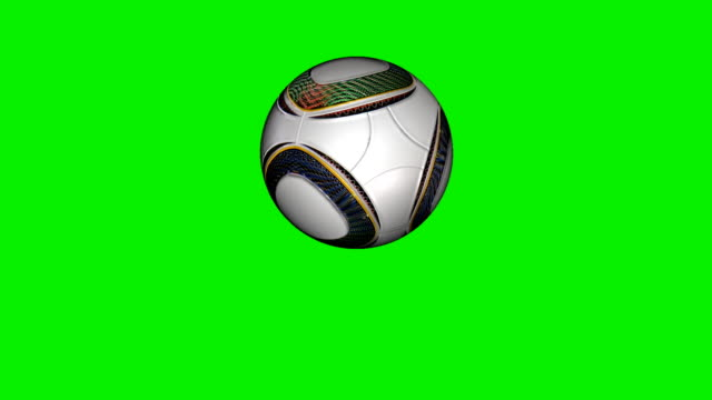 Soccer ball flying in slow motion, Green Screen Soccer ball flying in slow motion, Green Screen international match stock videos & royalty-free footage