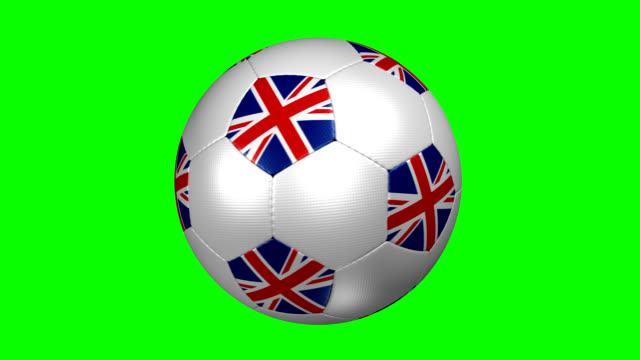 soccer ball Great Britain video