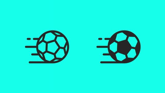 Soccer Ball Icons - Vector Animate