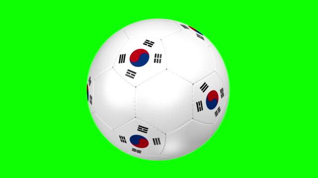 soccer ball Korea Republic video