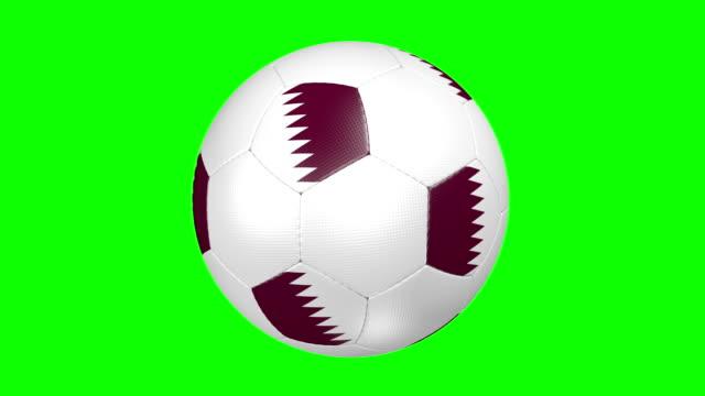 soccer ball Qatar video