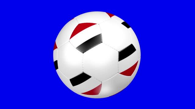 soccer ball Yemen video