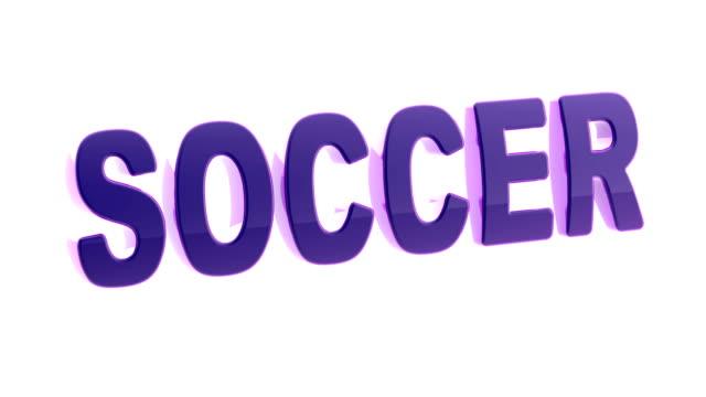 fußball. filmmaterial mit 4k auflösung hat alpha-kanal. - sportliga stock-videos und b-roll-filmmaterial