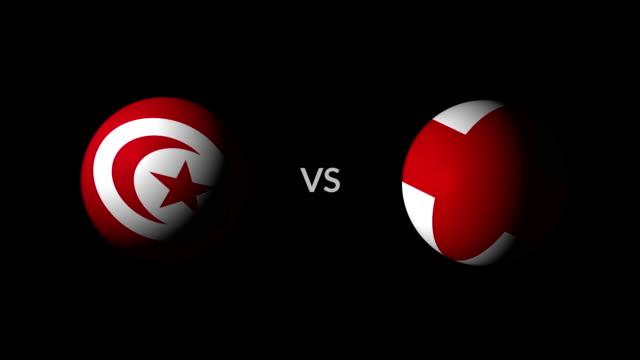stockvideo's en b-roll-footage met voetbal spel tunis vs engeland - kampioenschap