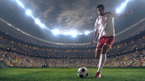 vidéos et rushes de jeu de football avec le gardien - football