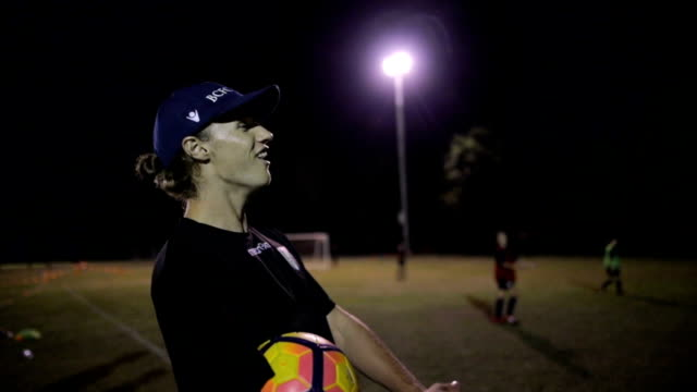 Soccer Instructor video