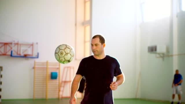 Soccer Player Balancing The Ball video