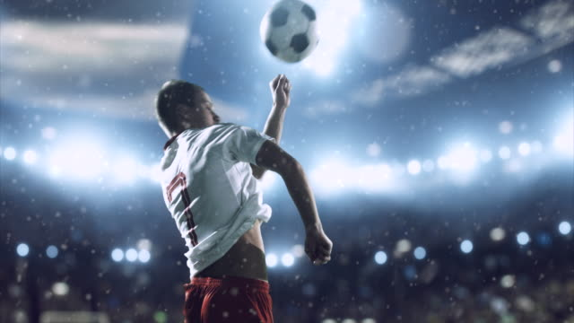 Soccer player makes a dramatic play video