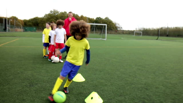 Soccer Practice video