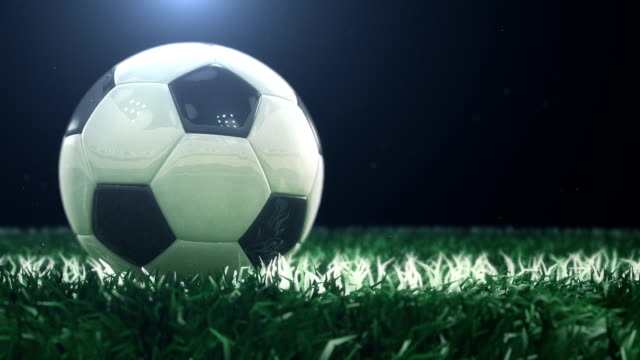 Soccer Soccer Background. Seamless loop. floodlit stock videos & royalty-free footage