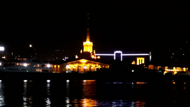 Sochi Seaport From Water Side. video