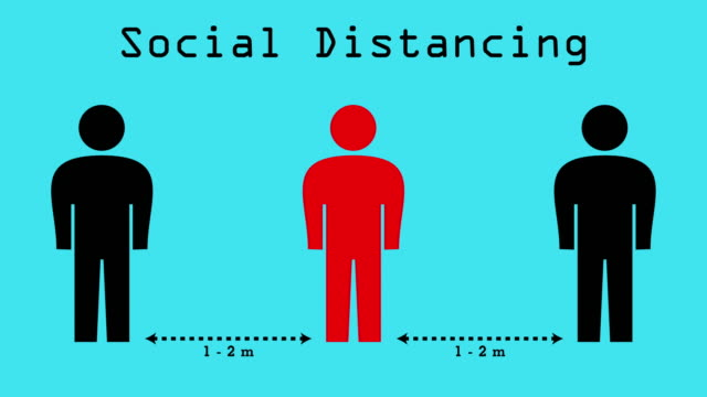 social distancing - social distancing stock videos & royalty-free footage
