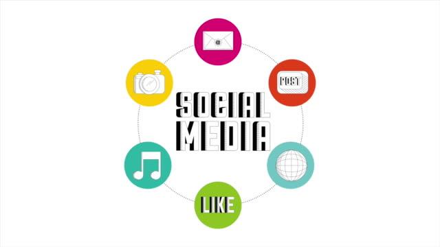 анимация социальных медиа - google стоковые видео и кадры b-roll