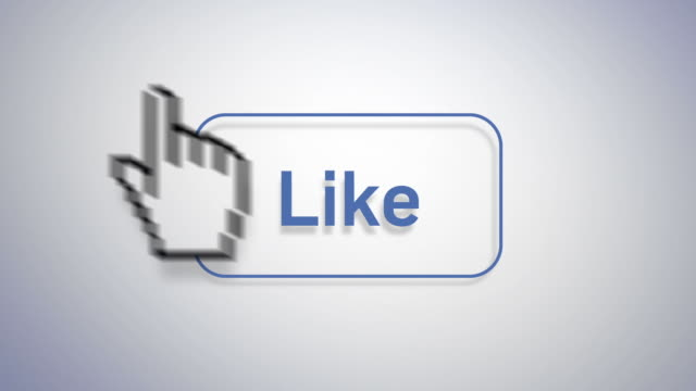social media marketing - like video stock e b–roll
