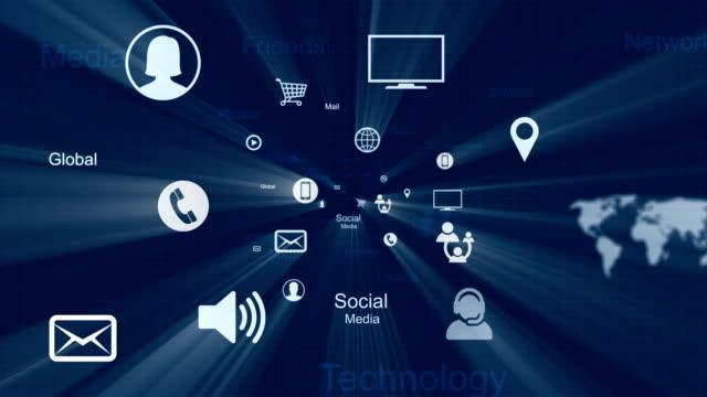 Los medios sociales, Red Social - vídeo