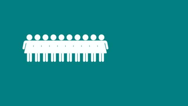 vídeos y material grabado en eventos de stock de infografía de mujer de los medios de comunicación social. - person icon