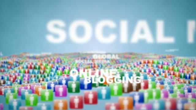 Social Media words video