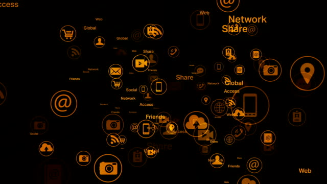 Social network and Media - Gold video