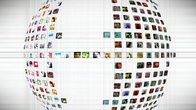 Social Network Graphic video