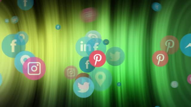 social network, social media, marketing tunnel of data information - digital marketing stock videos & royalty-free footage