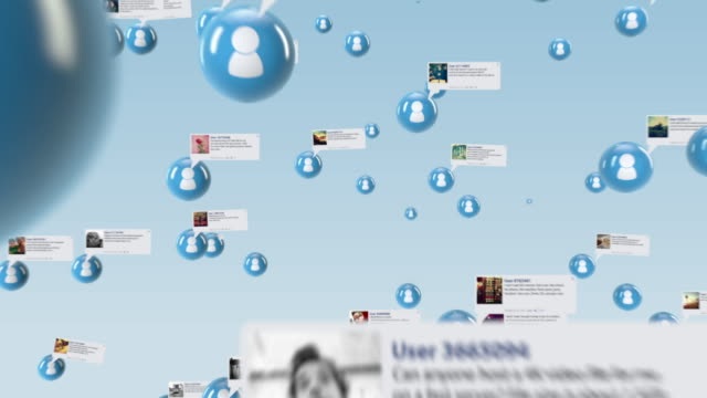 vídeos de stock, filmes e b-roll de rede social - networking