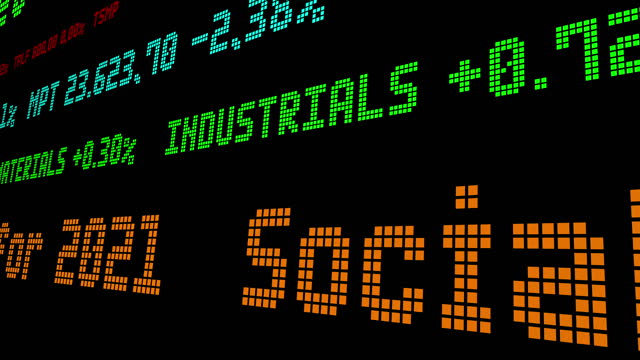 Social Security Changes for 2021 stock ticker video