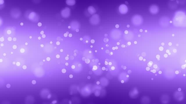 Weiche abstrakte sauber verschwommen Glitter Staub tiny Moving Rising Glitter Bokeh Partikel weich loopable Hintergrund – Video