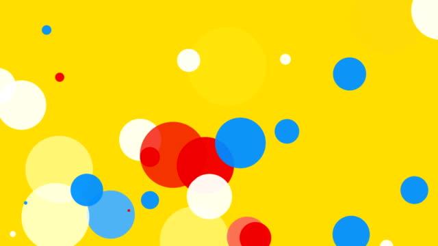 vídeos y material grabado en eventos de stock de fondo suave en bucle de fondo amarillo - color vibrante