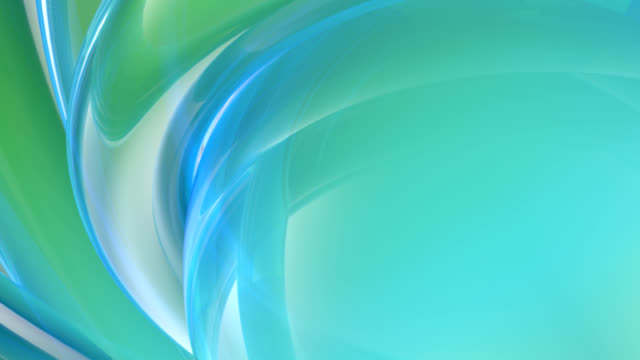 (Loop) Soft Blue Curves Abstraction video