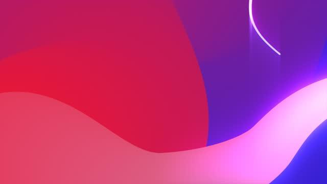 vídeos de stock e filmes b-roll de soft gradient video background. loop - encosta