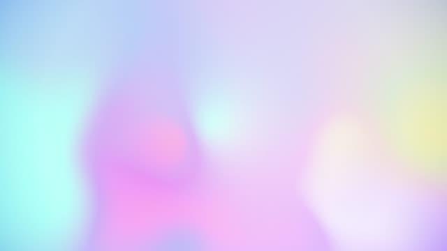 ソフトホログラフィック流れる光漏れ - 玉虫色点の映像素材/bロール